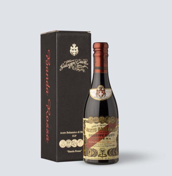 Aceto Balsamico di Modena IGP Banda rossa 20 anni - Giuseppe Giusti (250 ml)