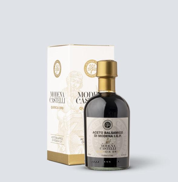 Aceto Balsamico di Modena IGP Quercia Oro - Acetaia Castelli (250 ml)