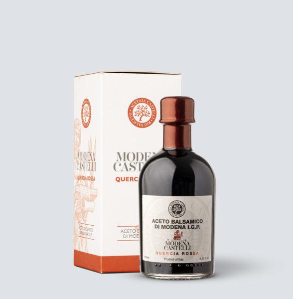Aceto Balsamico di Modena IGP Quercia Rossa - Acetaia Castelli (250 ml)