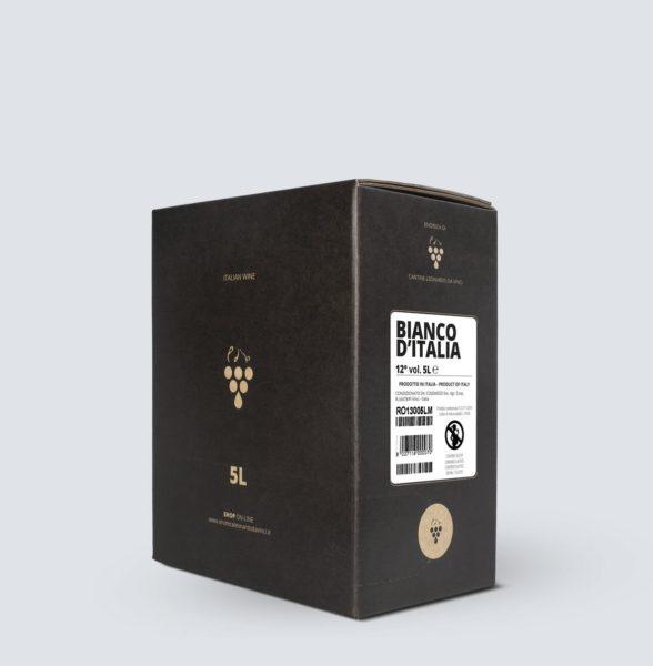 Bag in Box vino Bianco 12° (5 lt)