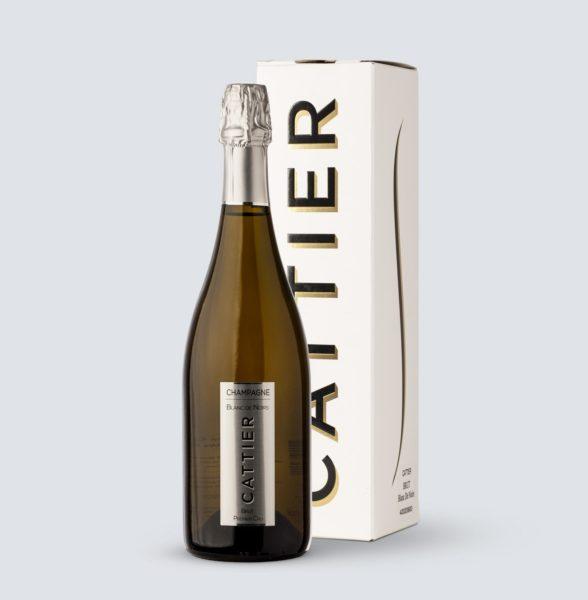 Champagne Premier Cru Brut Blanc de Noirs - Cattier