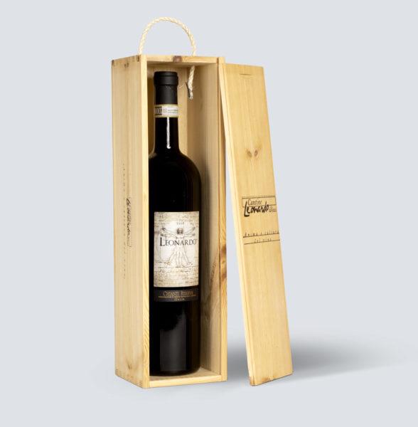 Chianti Riserva 2012 Magnum (1,5 lt) - Leonardo - Cassetta in Legno