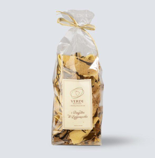 Brigidini di Lamporecchio glassati al cioccolato - 250 gr