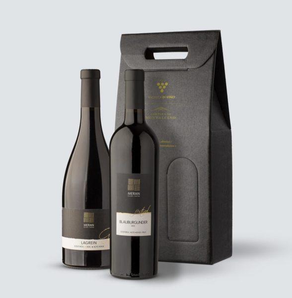 Meran - Blauburgunder Pinot Nero DOC 2017 + Lagrain Sudtirol DOC 2018 (confezione REGALO)
