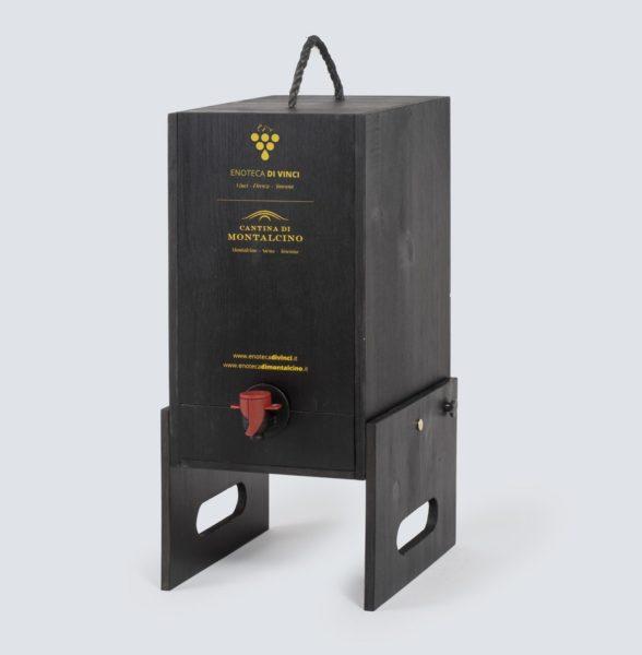 Caterina - Cantinetta in legno per Bag in Box (3 e 5 litri)