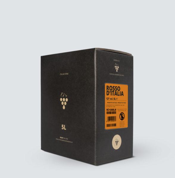 Bag in Box vino Rosso 12° (5 lt)
