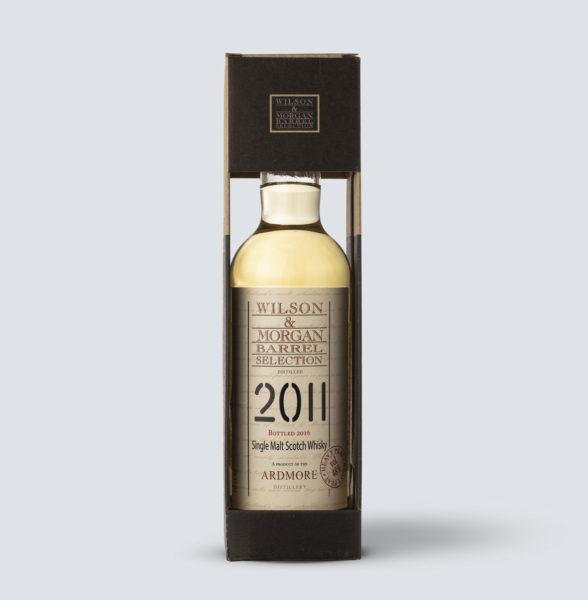 Scotch Whisky Single Malt Ardmore 2011 - Wilson & Morgan