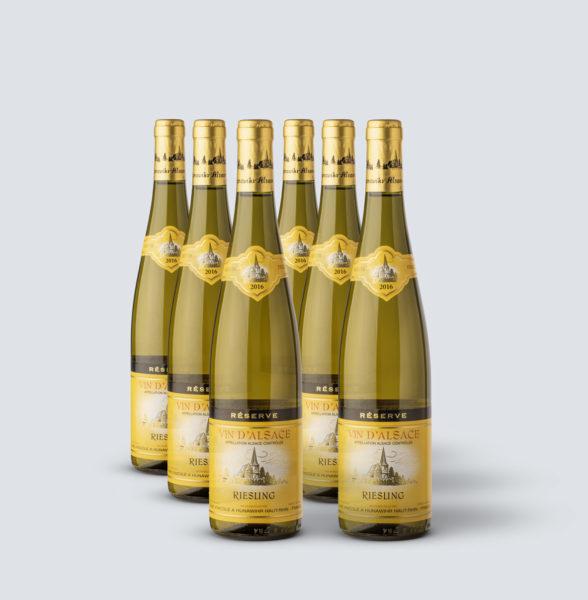 Alsace Riesling Réserve 2016 - Hunawihr (6 bottiglie)