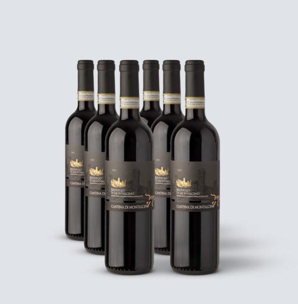 Brunello di Montalcino DOCG 2012 - Cantina di Montalcino (6 bottiglie)