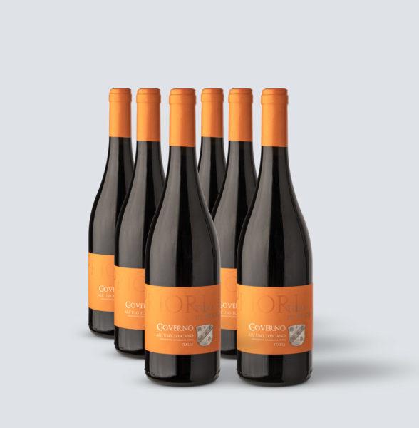 Governo all'uso toscano IGT 2015 - Terre Dei Priori (6 bottiglie)