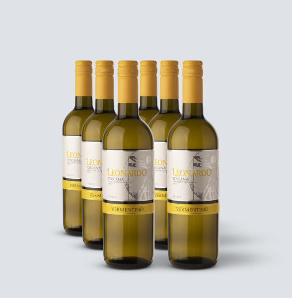 Vermentino di Toscana IGT 2017 - Leonardo - tappo stelvin (6 bottiglie)