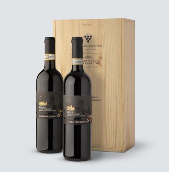 Brunello di Montalcino DOCG 2011 - 2012 (cassetta legno)