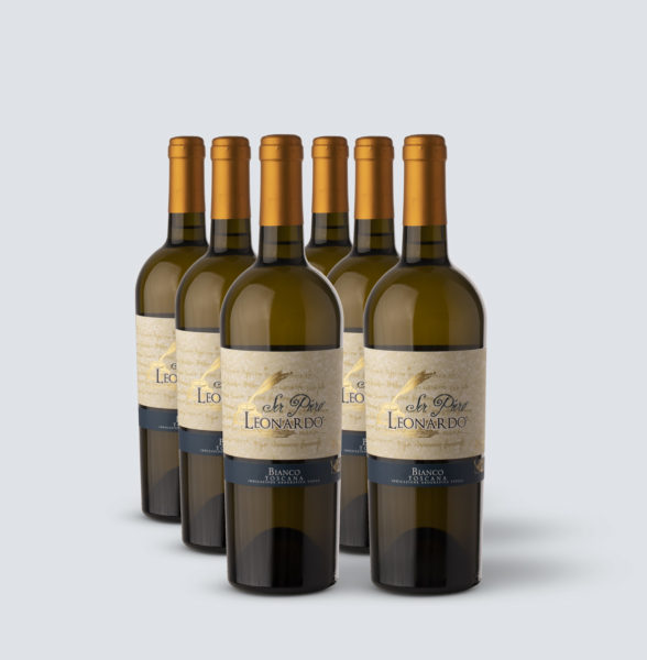 Chardonnay Toscana IGT 2017 Ser Piero - Leonardo (6 bottiglie)