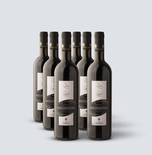 Salice Salentino Rosso DOC 2018 - Rivo di Liandro (6 bottiglie)