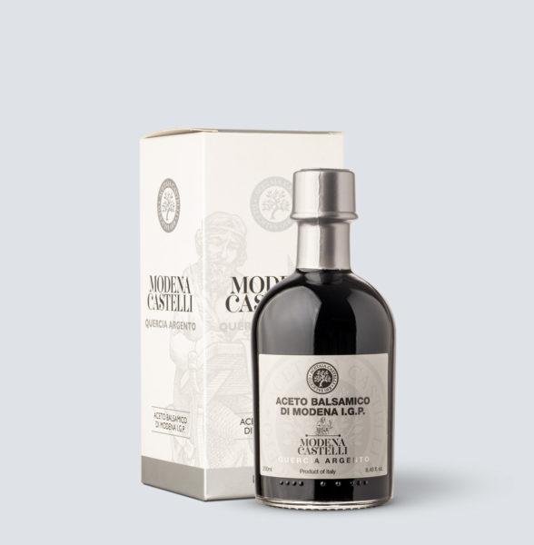 Aceto Balsamico di Modena IGP Quercia Argento - Acetaia Castelli (250 ml)
