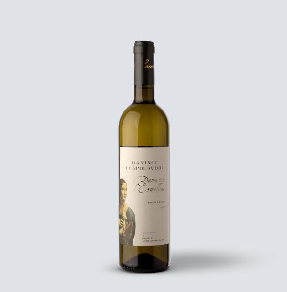 Pinot grigio IGT 2019 Dama con l'Ermellino - Da Vinci i Capolavori