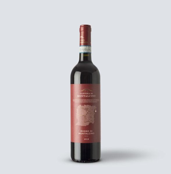 Rosso di Montalcino 2018 - Cantina di Montalcino