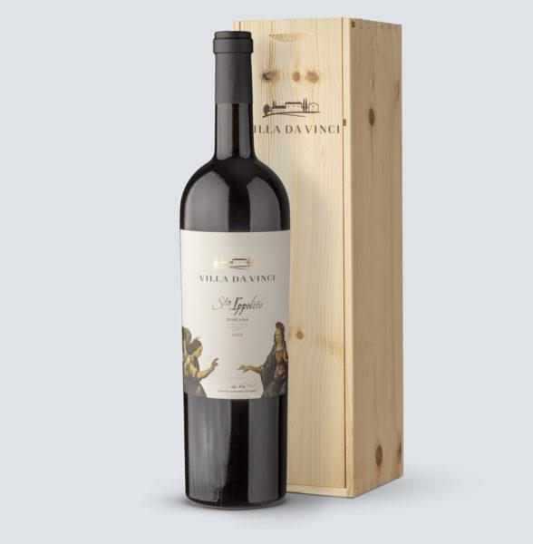 Santo Ippolito Rosso IGT 2018 Magnum (1,5 Lt) - Villa da Vinci