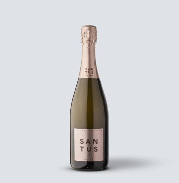 Franciacorta DOCG rosè extra brut 2015 - Santus