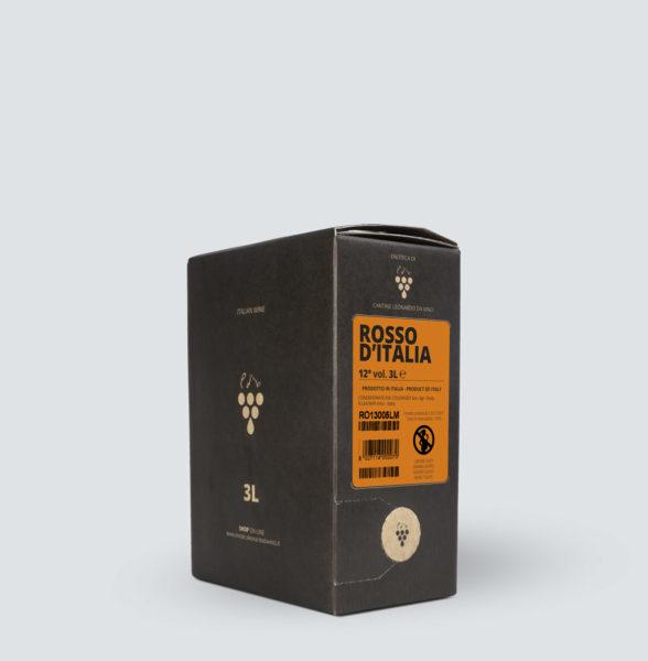 Bag in Box vino Rosso 12° (3 lt)
