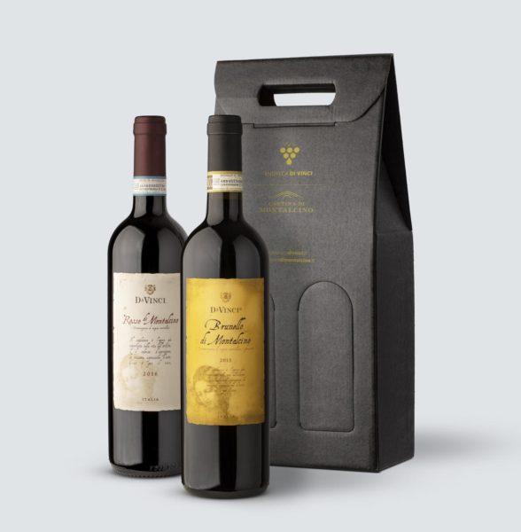 Brunello di Montalcino DOCG 2013 + Rosso di Montalcino DOC 2016 - Da Vinci (Confezione REGALO)