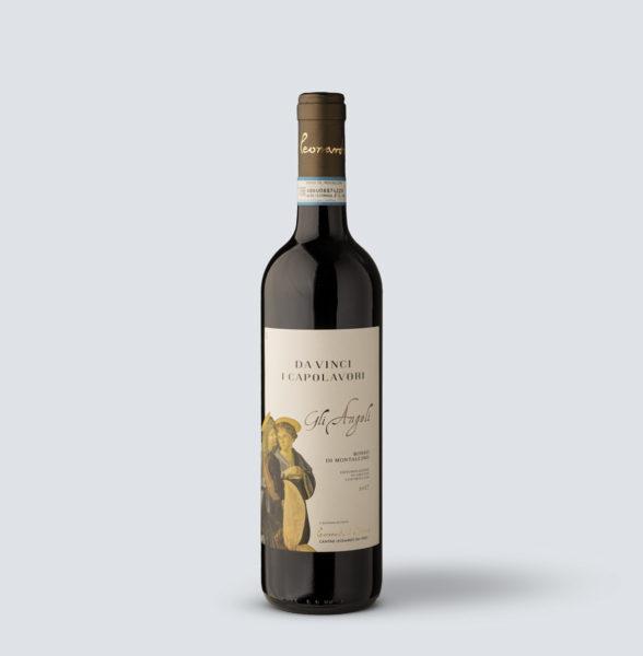 Rosso di Montalcino DOC 2017 Gli Angeli - Da Vinci i Capolavori