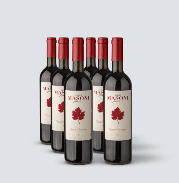 Rosso di Montalcino DOC 2019 - Renato Masoni (6 bottiglie)