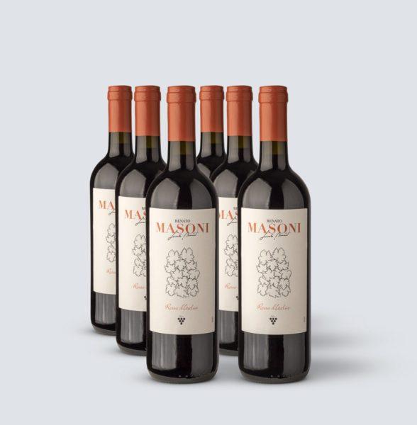 Vino Rosso Italia - Renato Masoni (6 bottiglie)