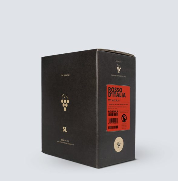 Bag in Box vino Rosso 13° (5 lt)