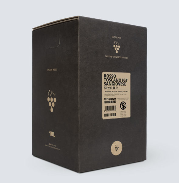 Bag in Box vino Rosso Toscano igt - Sangiovese (10 litri)