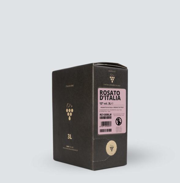 Bag in Box vino Rosato 12° (3 litri)