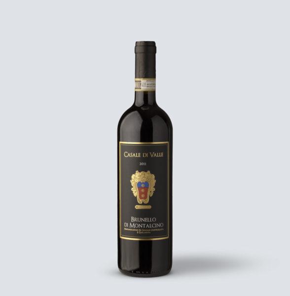 Brunello di Montalcino DOCG 2011 - Casale di Valle