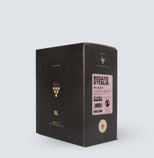 Bag in Box vino Rosato 12° (5 litri)
