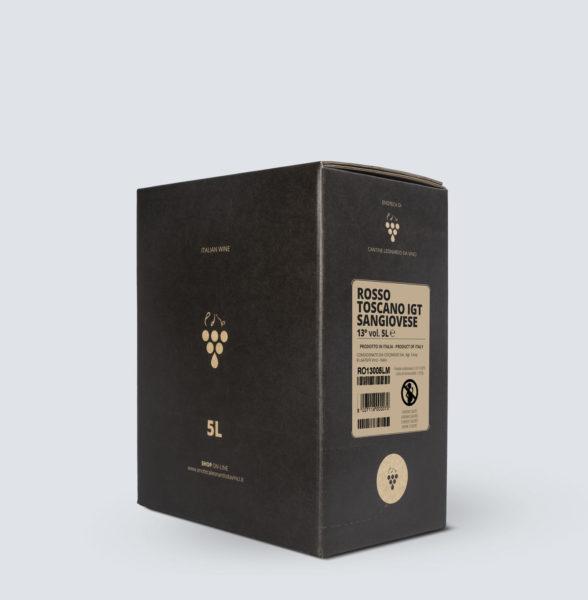 Bag in Box vino Rosso Toscano igt - Sangiovese (5 litri)