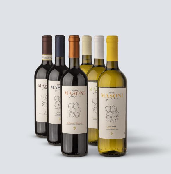 Degustazione dei nostri vini - Renato Masoni (3 vini Bianchi + 3 vini Rossi)