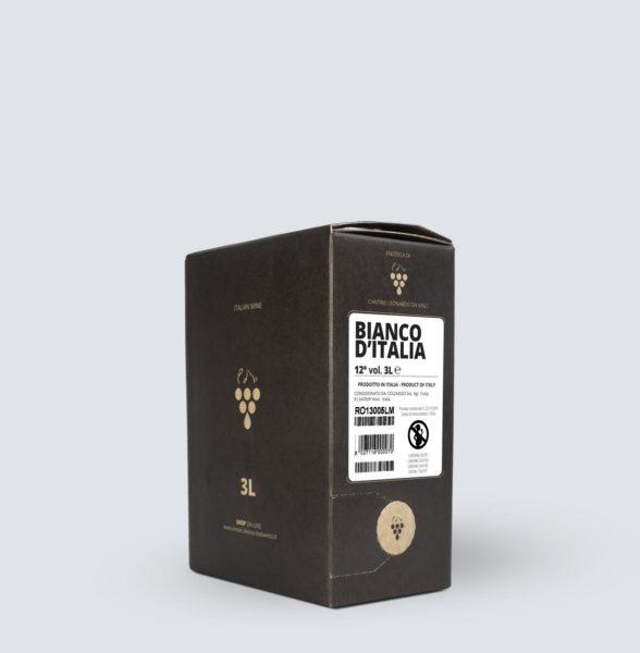 Bag in Box vino Bianco 12° (3 litri)