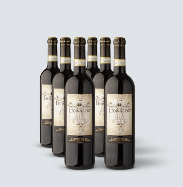 Chianti Riserva 2014 DOCG - Leonardo (6 bottiglie)