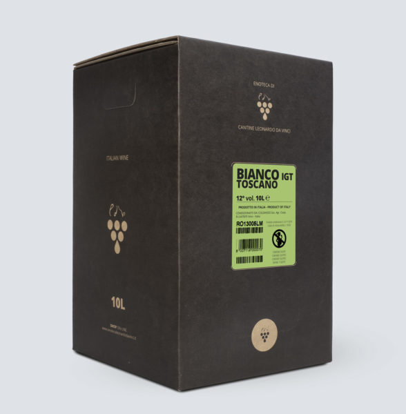 Bag in Box vino Bianco Toscano IGT 10 litri - € 3,29/litro