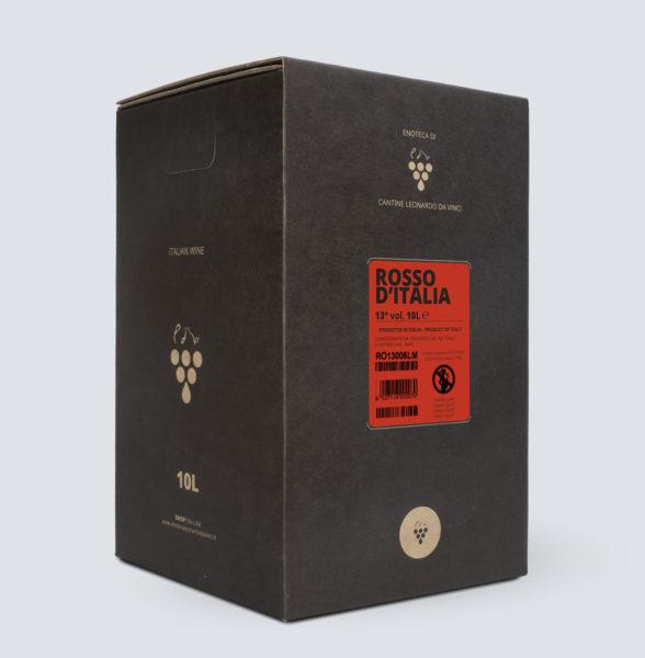 Bag in Box vino Rosso 13° (10 litri)