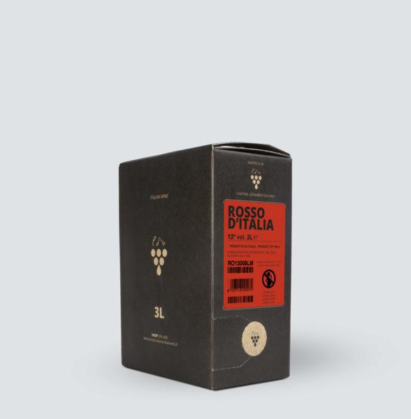 Bag in Box vino Rosso 13° (3 litri)