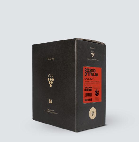 Bag in Box vino Rosso 13° (5 litri)