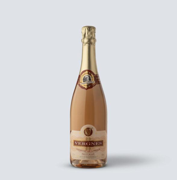 Cremant de Limoux  brut Rosé - Vergnes de Martinolles